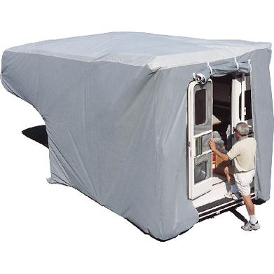Adco Products Inc 12263 Truck Camper COVER, Gray Sfs Aquashed® Top/gray Polypropylene Sides (Adco)