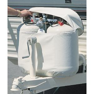 Adco Products 2113 Vinyl Propane Double Tank Cover 30 lbs