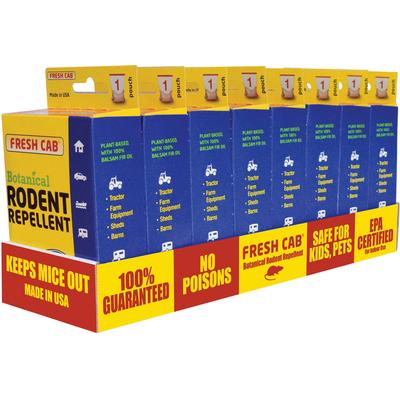 A P Products 020128 Fresh Cab™ Rodent Repellent Counter Display Box (Ap Products)
