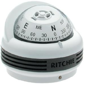 Ritchie TR33W TREK® COMPASSES / TREK FLUSH WHT MT