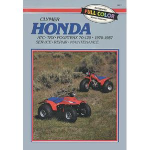 Clymer M201 Atv/utv Repair Manuals (Clymer)