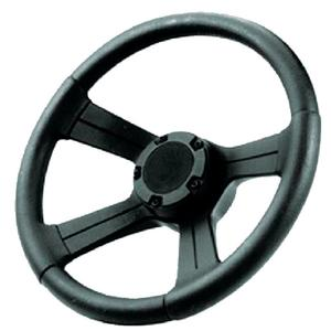 Attwood 83154 Soft Grip Steering Wheel with Cap