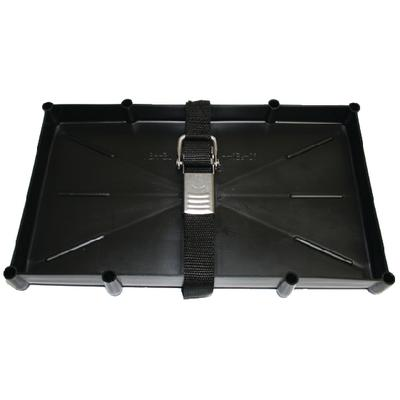 T-H Marine NBH27SSCDP Battery Tray With Stainless Steel Buckle