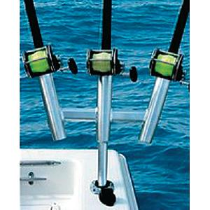 Taco F310770BSA1 SPORT FISHING KITE 3 GUNNEL MOUNT ROD HOLDER /