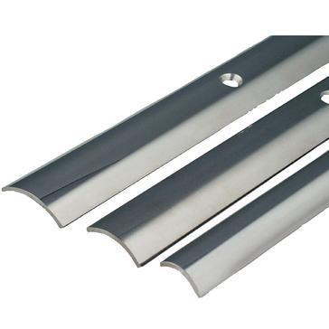 Taco S114500P12 STAINLESS STEEL HOLLOW BACK RUB RAIL / S.S. RUB