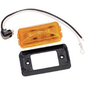Wesbar 401580 LED RECTANGULAR MARKER/CLEARANCE LIGHT / LED 2 REC