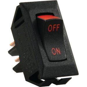Jr Products 13655 Labeled On/off Switch - Red Print (Jr)