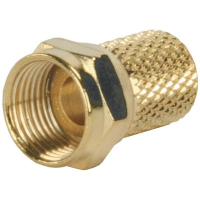 Jr Products 47275 RG6 Twist-On Coax End (Jr)