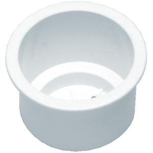 Beckson GH33W1 RECESSED DRINK HOLDER / STD. DRINK HOLDER WHITE