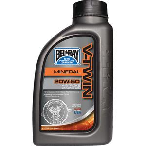 Bel-Ray Co Inc 96905 V-Twin Mineral Engine Oil (Bel Ray)