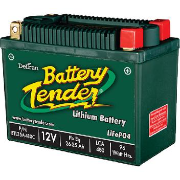 Deltran Corporation BTL35A480C Lithium Iron Phosphate Battery (LiFePO4) (Battery Tender)