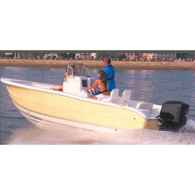 Carver 70021P V-HULL CENTER CONSOLE FISHING WITH HIGH BOW RAILS