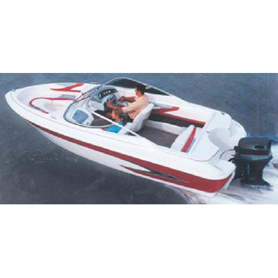 Carver 77017P V-HULL RUNABOUTS WITH WINDSHIELD & BOW RAILS (I