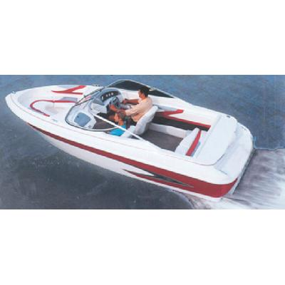 Carver 77117P V-HULL RUNABOUTS WITH WINDSHIELD & BOW RAILS (I
