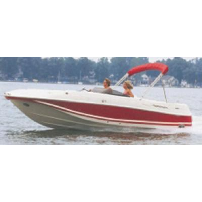 Carver 95125P DECK BOATS WITH WALK THRU WINDSHIELD OR SIDE CONSO