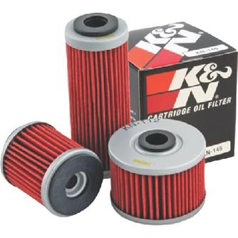 K & N Engineeriing KN207 Performance Gold Oil Filters (K&n)