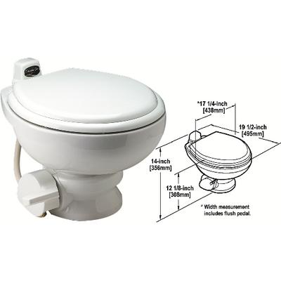 Sealand 302311711 Traveler® Lite™ Series Lightweight China Toilets For Towables