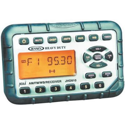Jensen JHD910 Waterproof Mini Am/fm/wb Stereo With Audio Aux-In