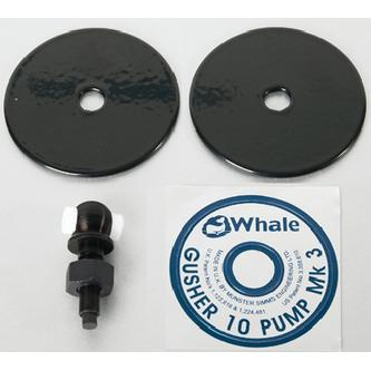 Whale AS3719 GUSHER 10 BILGE PUMP / EYBOLT/CLAMPING PLATE KIT GU