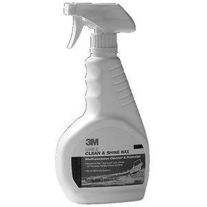 3M Marine 09033 MARINE CLEAN & SHINE WAX ENHANCER / ONE STEP CLE
