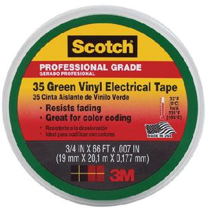 3M Marine 10851 SCOTCH 35 VINYL ELECTRICAL TAPE / #35 VINYL ELEC