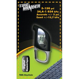 Minder Research, Inc TMGKEYCHAIN Tireminder® Digital Tire Gauge Keychain (Minder)
